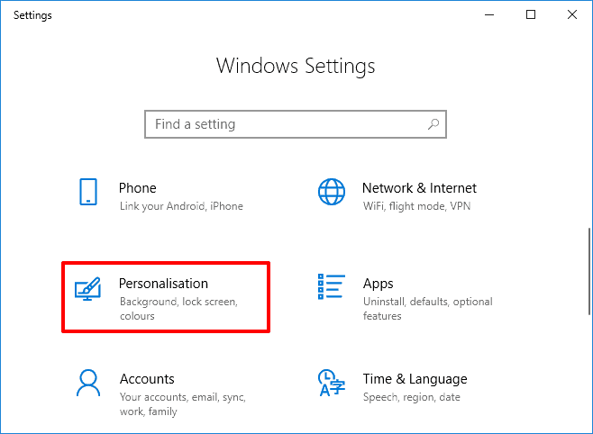 taskbar not hiding in fullscreen