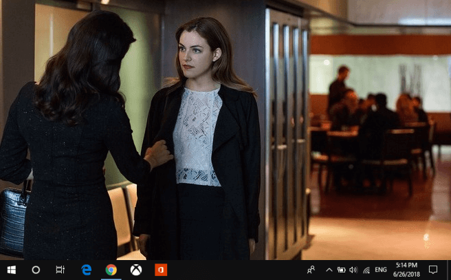 windows 10 taskbar not hiding in fullscreen