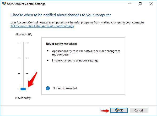 how to fix a referral was returned from the server error in windows 10