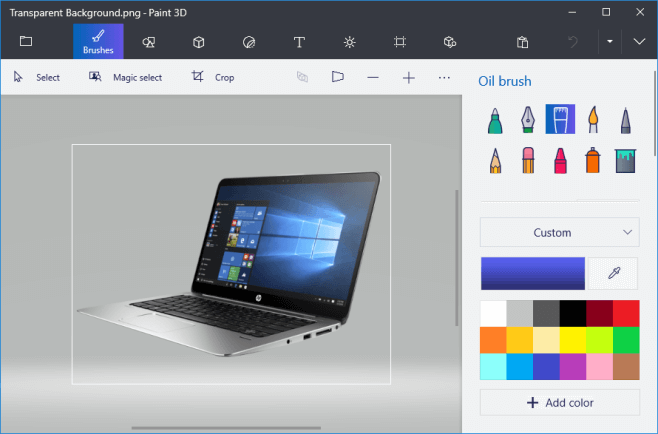 How to Make Background Transparent in Paint and Paint 3D