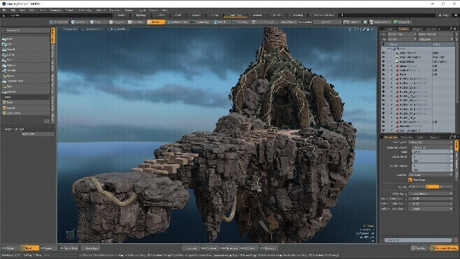 modo-creative 3d modelling software