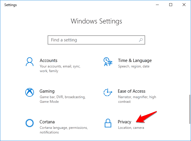 windows-10-privacy-settings