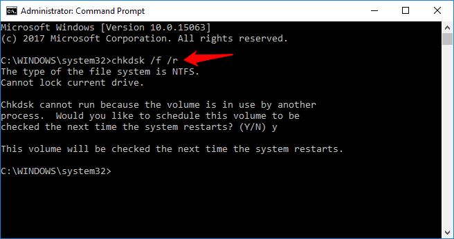 windows 10 unknown hard error