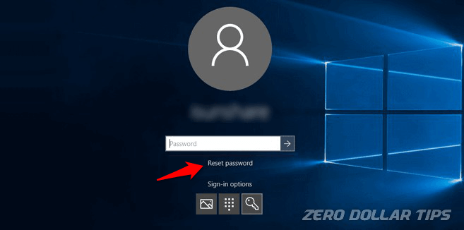reset windows 10 administrator password
