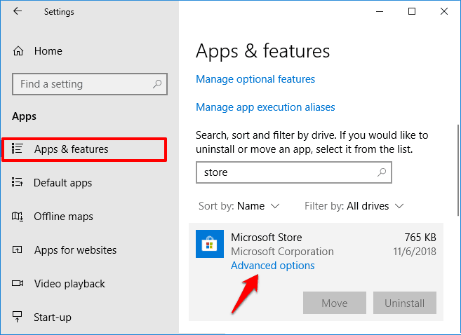how to reinstall windows store