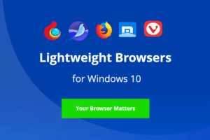lightweight browser windows 10