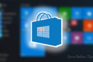 reinstall windows store