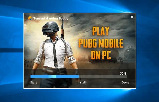 PUBG mobile on PC