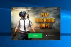 PUBG mobile on windows 10
