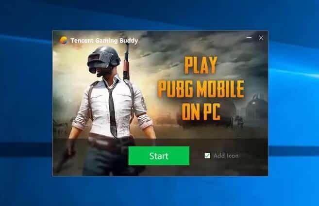 PUBG mobile on windows 10