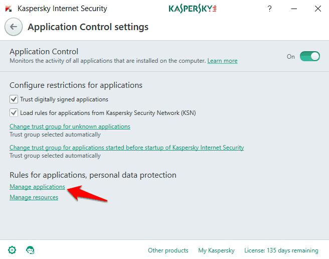 device census kaspersky