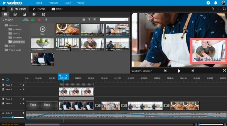 video editing online free
