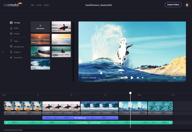 video editing online