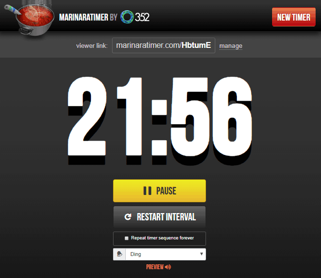online pomodoro technique timer