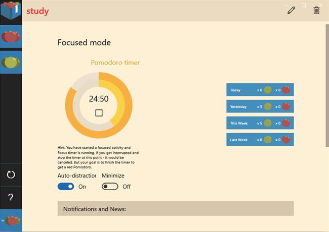 pomodoro technique app
