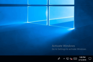 remove activate windows 10 watermark