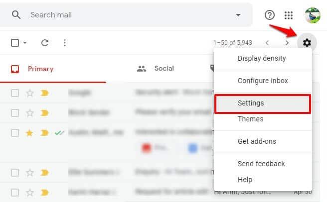 blocking someone on gmail