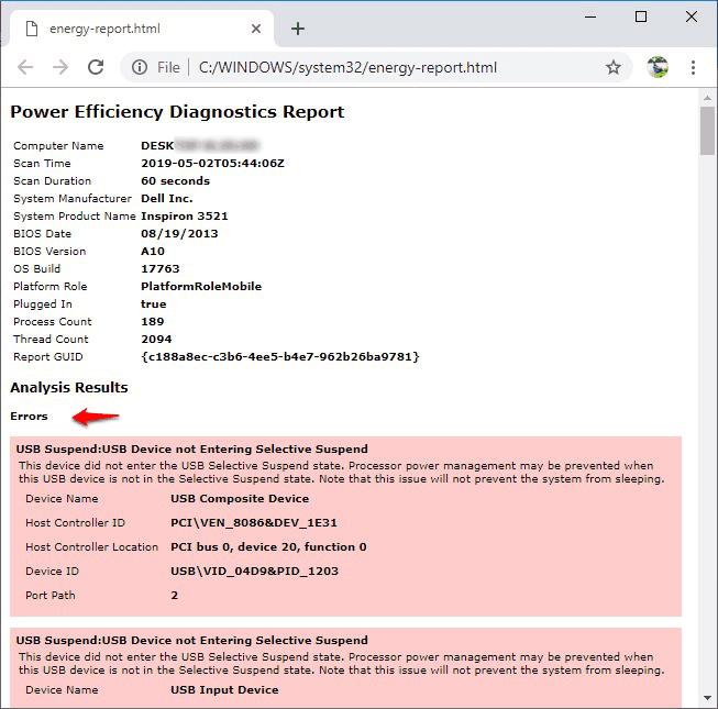 computer restarts after shutdown