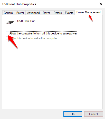 how to fix usb device not recognized