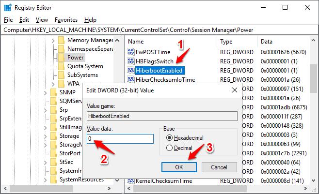 windows 10 restarts instead of shutting down
