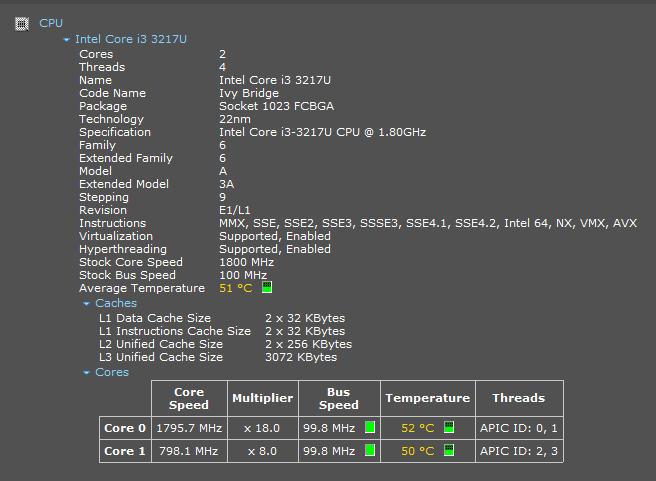 how to check cpu temp in windows 10