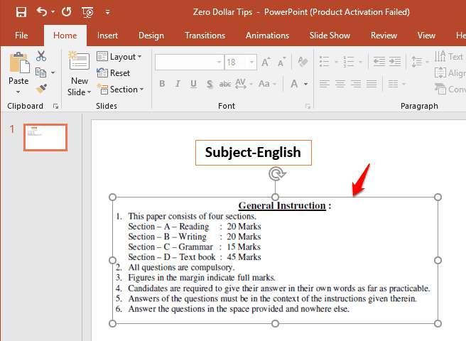 how to insert pdf into powerpoint slide