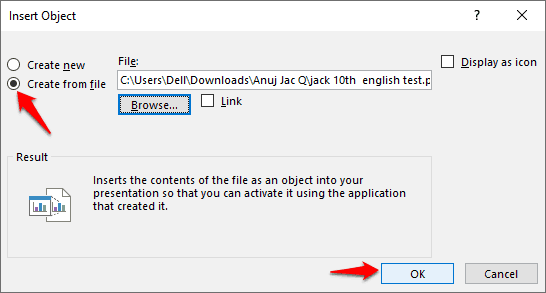 how to insert pdf into powerpoint without losing quality