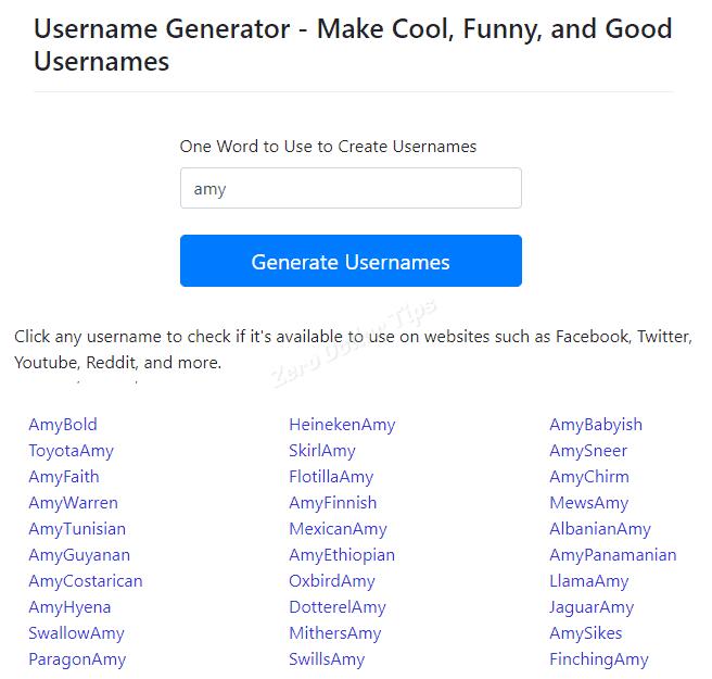Username Generator Instagram - Skrewofficial com