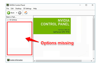 How to Fix Nvidia Control Panel Missing Options in Windows 10