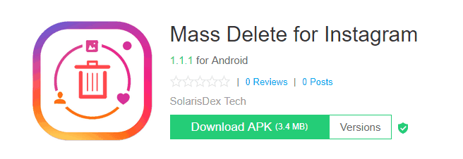 Mass Delete For Instagram For Android Apk Download - Norlako 6655 la