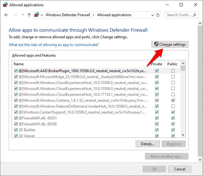 block a program in windows firewall