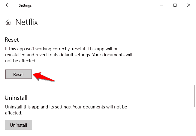 how to fix netflix app not working on windows 10