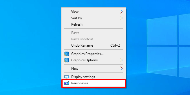 move desktop icons from left side to right side of screen