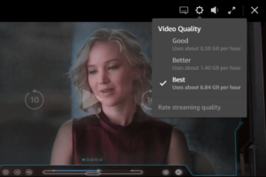amazon prime video quality settings