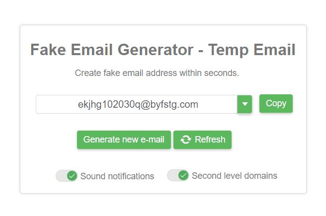 fake-email-generator