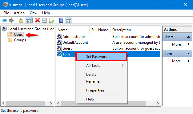 forgot windows 10 administrator password