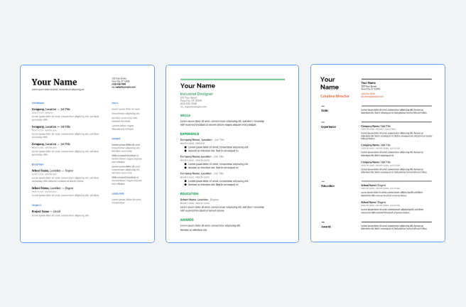 How To Use The Best Google Docs Resume Templates Free 2020