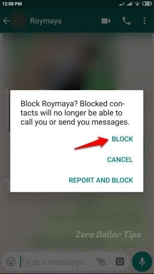 hiding online status on whatsapp
