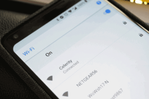 how to connect to locked wifi without password on android