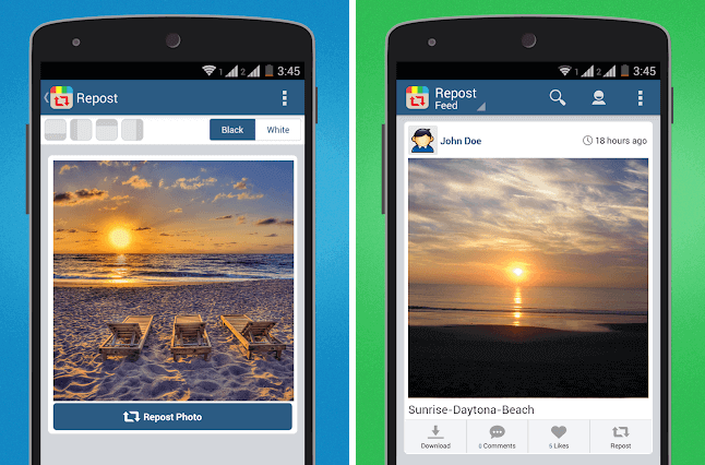 how to repost videos on instagram