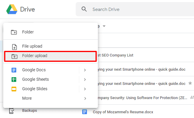 how to transfer all files from one google drive to another