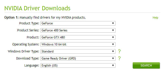 nvidia installer failed windows 10