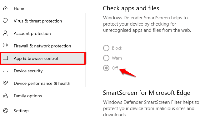 this app has been blocked for your protection windows 10