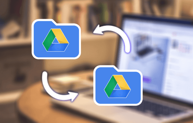 transfer google drive files to another account