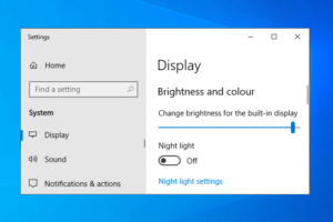windows 10 brightness not working