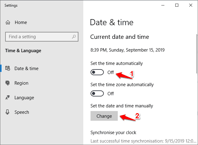 windows 10 night light settings greyed out