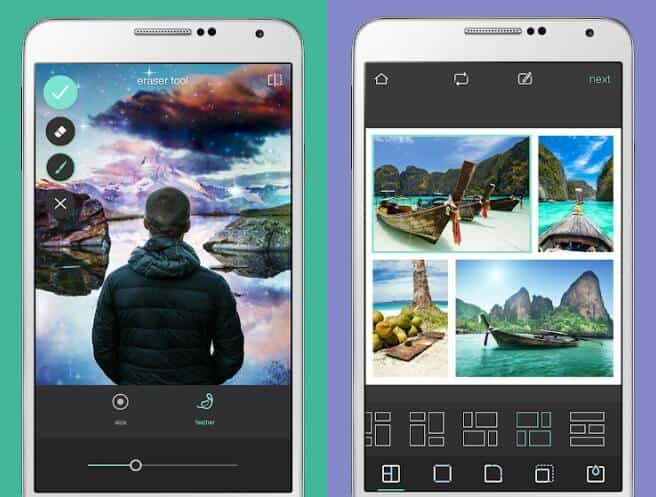 best photo editing app for android to change background