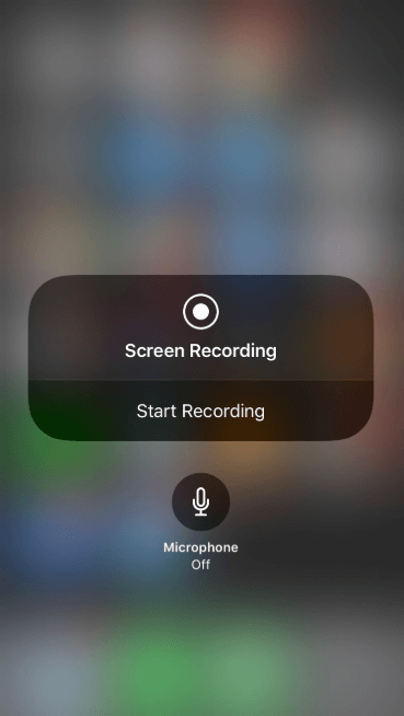 how do i screen record on iphone xr