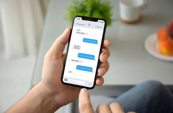 how to print text messages on iphone