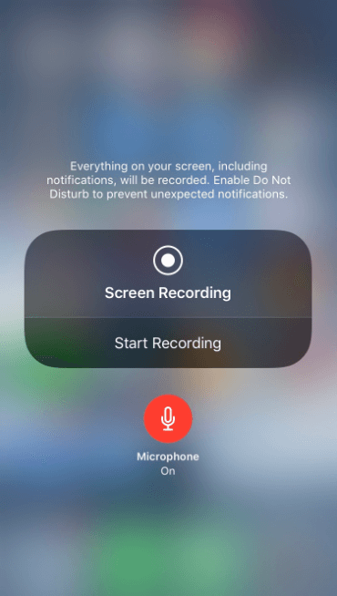 how to screen record on iphone xr with sound